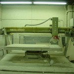 Cutting Marble & Granite Counter Tops  06148-01